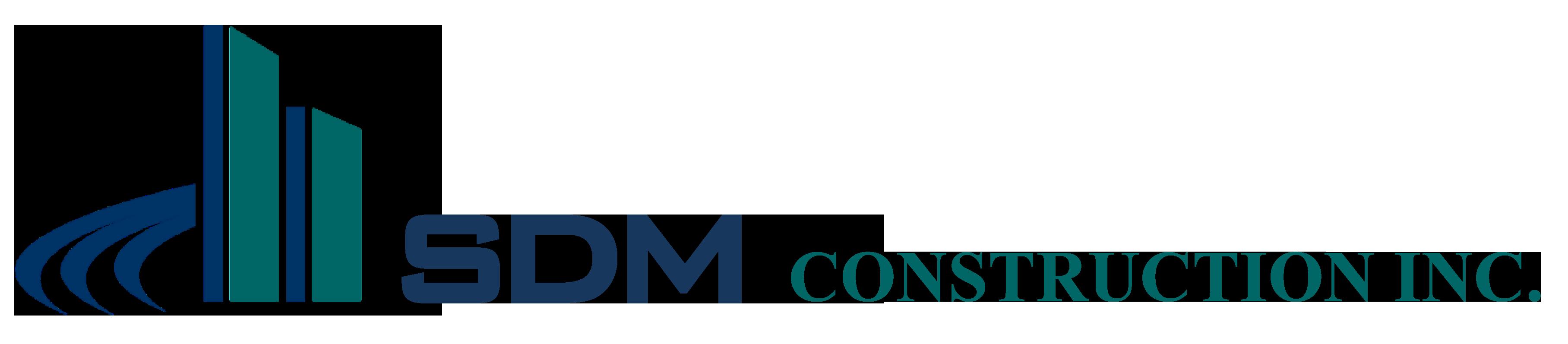SDM Construction Logo